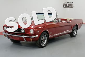1966 Ford MUSTANG CONVERTIBLE 289 AUTO BEAUTIFUL | Denver, CO | Worldwide Vintage Autos in Denver CO