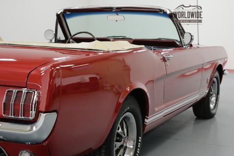 1966 Ford MUSTANG CONVERTIBLE 289 AUTO BEAUTIFUL | Denver, CO | Worldwide Vintage Autos in Denver, CO
