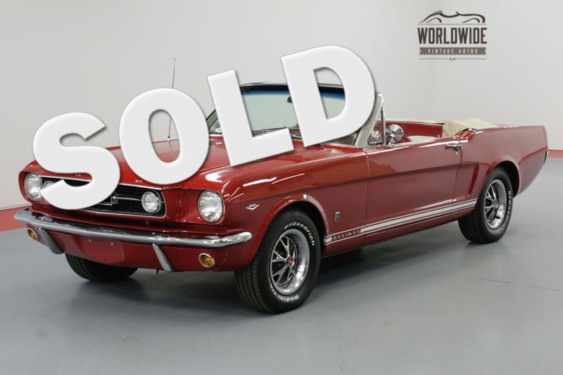 1966 Ford MUSTANG CONVERTIBLE 289 AUTO BEAUTIFUL | Denver, CO | Worldwide Vintage Autos