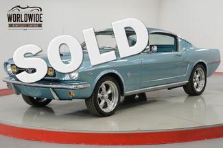 1966 Ford MUSTANG RARE FASTBACK NICELY RESTORED 4 SPD V8 4BRL  | Denver, CO | Worldwide Vintage Autos in Denver CO