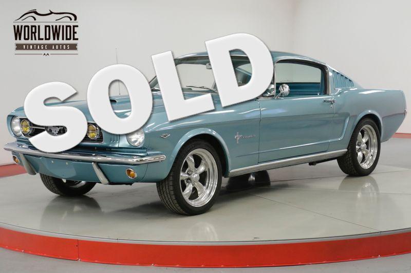 1966 Ford MUSTANG RARE FASTBACK NICELY RESTORED 4 SPD V8 4BRL    Denver, CO   Worldwide Vintage Autos
