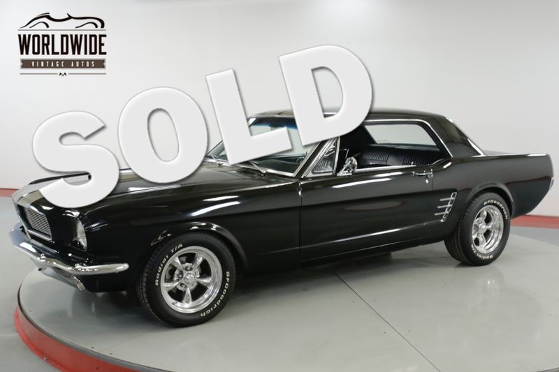 1966 Ford MUSTANG  RESTORED V8 4 SPEED AC AUTO DISC  | Denver, CO | Worldwide Vintage Autos