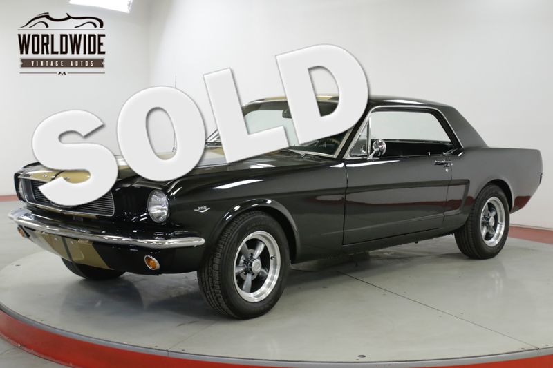1966 Ford MUSTANG  HERTZ TRIBUTE AUTO! CHROME! 289 V8. PB DISC  | Denver, CO | Worldwide Vintage Autos
