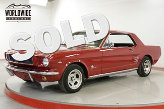 1966 Ford MUSTANG 302V8 4-SPEED DUAL EXHAUST HURST SHIFTER  | Denver, CO | Worldwide Vintage Autos in Denver CO