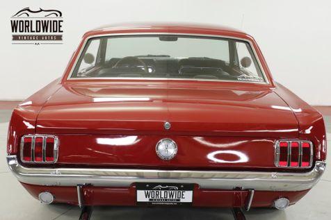 1966 Ford MUSTANG 302V8 4-SPEED DUAL EXHAUST HURST SHIFTER  | Denver, CO | Worldwide Vintage Autos in Denver, CO