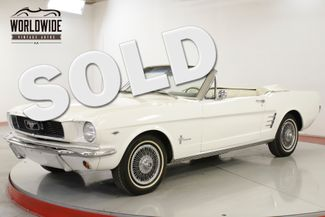 1966 Ford MUSTANG  POWER STEERING V-8 PONY INTERIOR | Denver, CO | Worldwide Vintage Autos in Denver CO