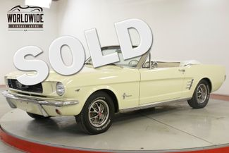 1966 Ford MUSTANG 289V8 4-SPEED PS PB FRONT DISC BRAKES | Denver, CO | Worldwide Vintage Autos in Denver CO