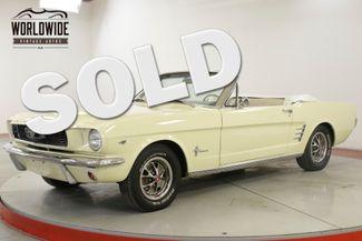1966 Ford MUSTANG 289V8 4-SPEED PS PB FRONT DISC BRAKES | Denver, CO | Worldwide Vintage Autos in Denver CO