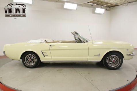 1966 Ford MUSTANG 289V8 4-SPEED PS PB FRONT DISC BRAKES | Denver, CO | Worldwide Vintage Autos in Denver, CO