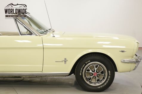 1966 Ford MUSTANG 289V8 4-SPEED PS PB FRONT DISC BRAKES | Denver, CO | Worldwide Vintage Autos in Denver, CO