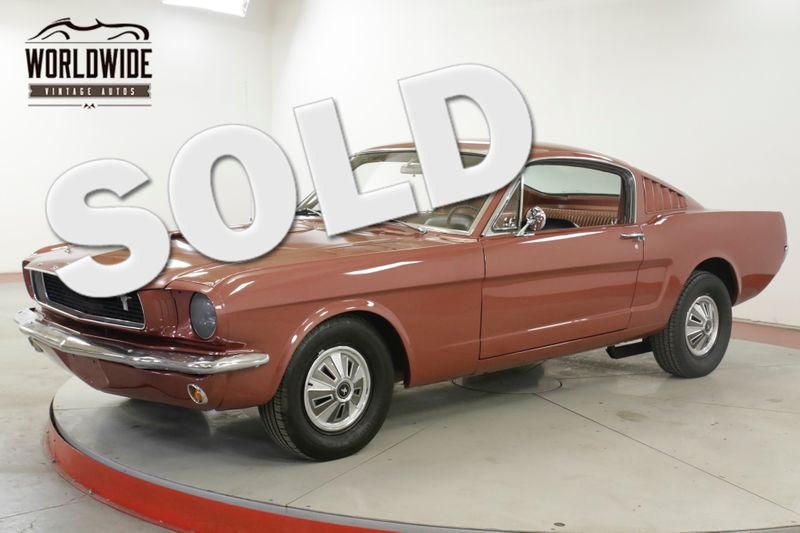 1966 Ford MUSTANG FASTBACK. 289 V8 4SPD PB. SHOW OR GO. COLLECTOR   Denver, CO   Worldwide Vintage Autos