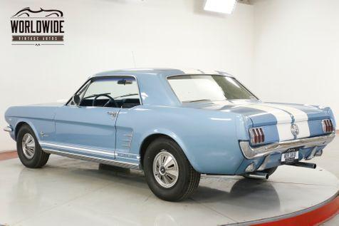1966 Ford MUSTANG LOTS OF CHROME 289 V8 MANUAL | Denver, CO | Worldwide Vintage Autos in Denver, CO