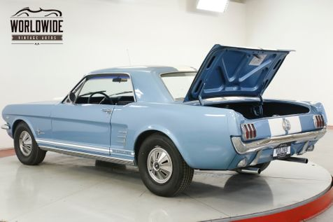 1966 Ford MUSTANG LOTS OF CHROME 289 V8 MANUAL | Denver, CO | Worldwide Vintage Autos in Denver, CO