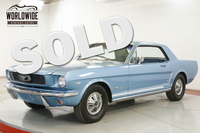 1966 Ford MUSTANG LOTS OF CHROME 289 V8 MANUAL | Denver, CO | Worldwide Vintage Autos