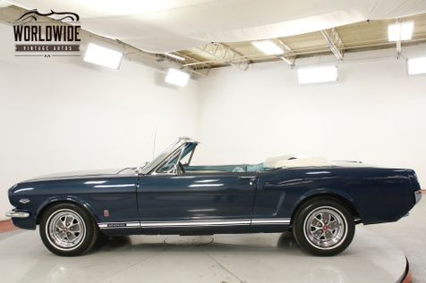 1966 Ford MUSTANG GT V8 AUTOMATIC GT BADGING NEW TOP | Denver, CO | Worldwide Vintage Autos in Denver, CO