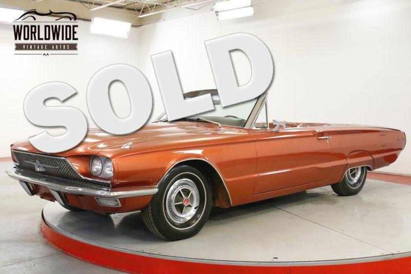 1966 Ford THUNDERBIRD 390V8 AUTO POWER TOP AND WINDOWS  | Denver, CO | Worldwide Vintage Autos