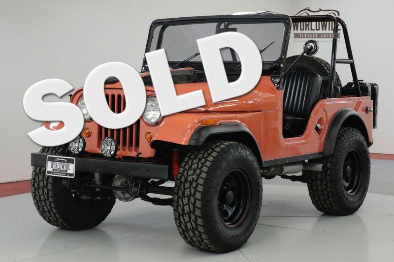 1966 Jeep CJ5   FRAME OFF RESTORED. HIGH DOLLAR BUILD 4X4 | Denver, CO | Worldwide Vintage Autos
