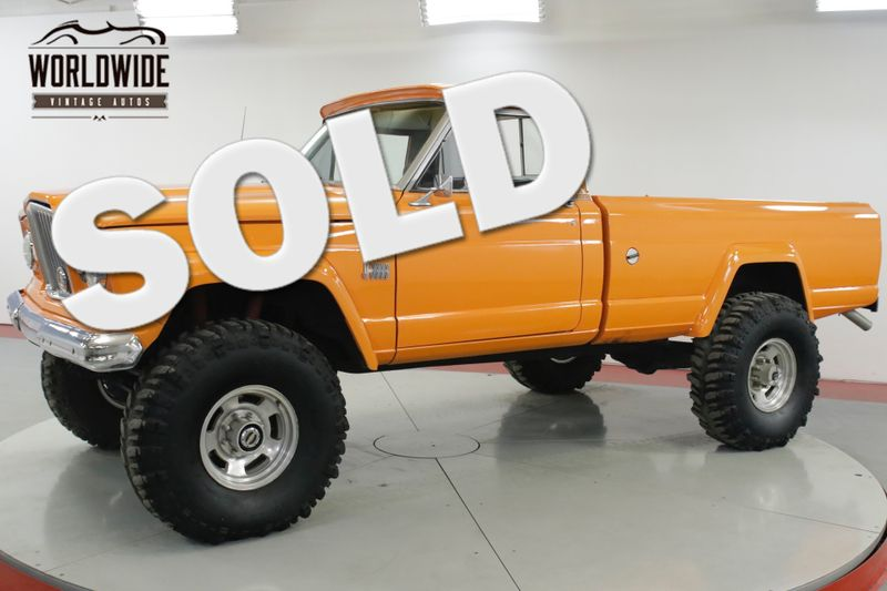 1966 Jeep GLADIATOR  LIFTED 4X4 HUGE TIRES 3/4 TON AXLES MUST SEE   Denver, CO   Worldwide Vintage Autos