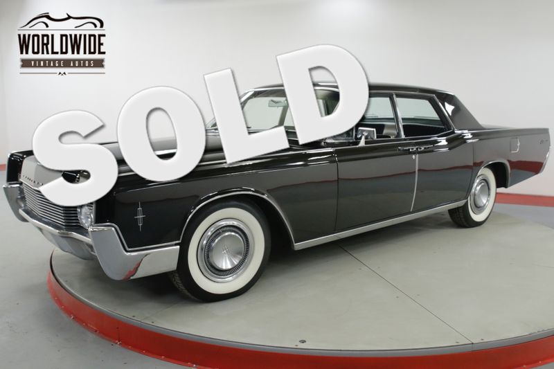 1966 Lincoln CONTINENTAL ONE OWNER CA CAR AC 34K MILES | Denver, CO | Worldwide Vintage Autos