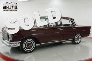 1966 Mercedes-Benz 230S RARE FIN TAIL W111 CAR 2.3L MOTOR PB | Denver, CO | Worldwide Vintage Autos in Denver CO