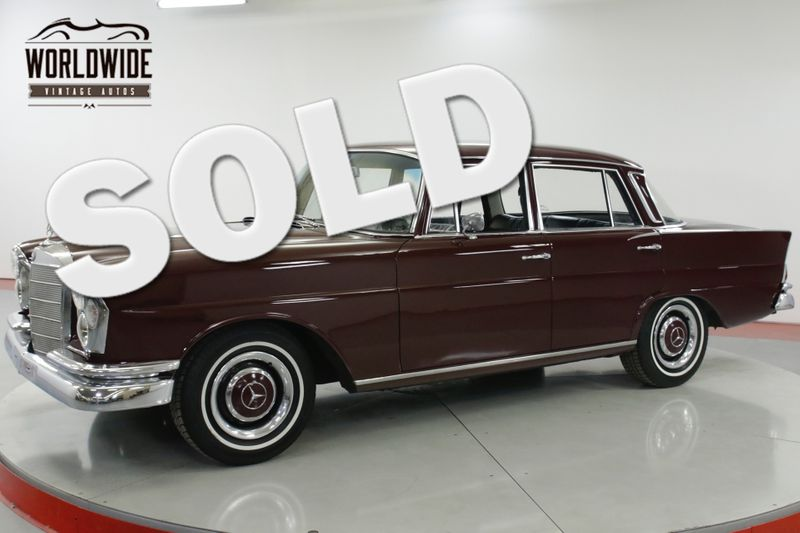 1966 Mercedes-Benz 230S RARE FIN TAIL W111 CAR 2.3L MOTOR PB | Denver, CO | Worldwide Vintage Autos