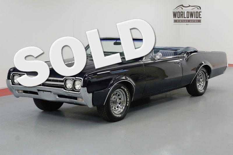 1966 Oldsmobile CUTLASS V8 AUTOMATIC PS PB POWER TOP SUMMER FUN | Denver, CO | Worldwide Vintage Autos