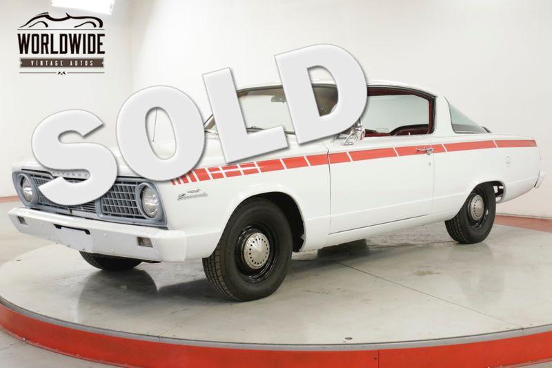 1966 Plymouth BARRACUDA FASTBACK 3 OWNER MOPAR 64K MILES BABIED | Denver, CO | Worldwide Vintage Autos