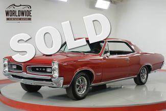 1966 Pontiac GTO 389 TRI-POWER V8. RESTORED. SHOW  | Denver, CO | Worldwide Vintage Autos in Denver CO