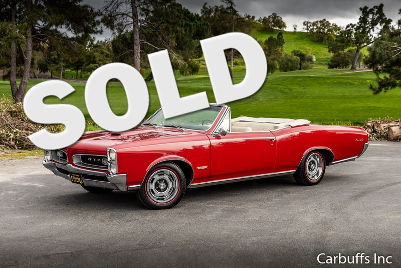 1966 Pontiac GTO Convertible | Concord, CA | Carbuffs