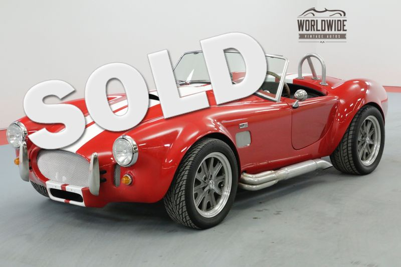 1966 Shelby COBRA STREET BEAST 1K MILES 5 SPEED 4.6L CRATE | Denver, CO | Worldwide Vintage Autos