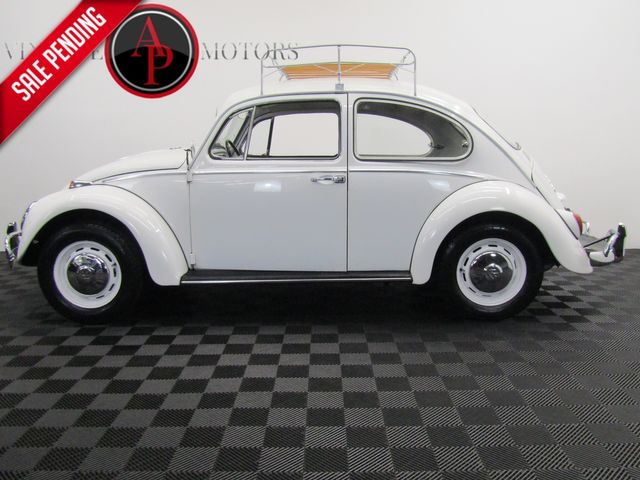 1966 Volkswagen Beetle ROOF RACK POP OUT REAR WINDOWS