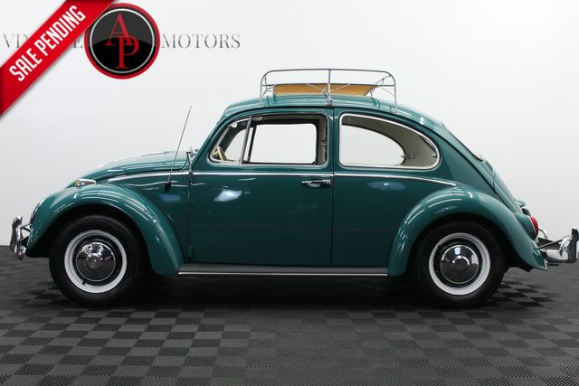 1966 Volkswagen Beetle ROOF RACK POP OUT REAR WINDOWS 1600CC MOTOR
