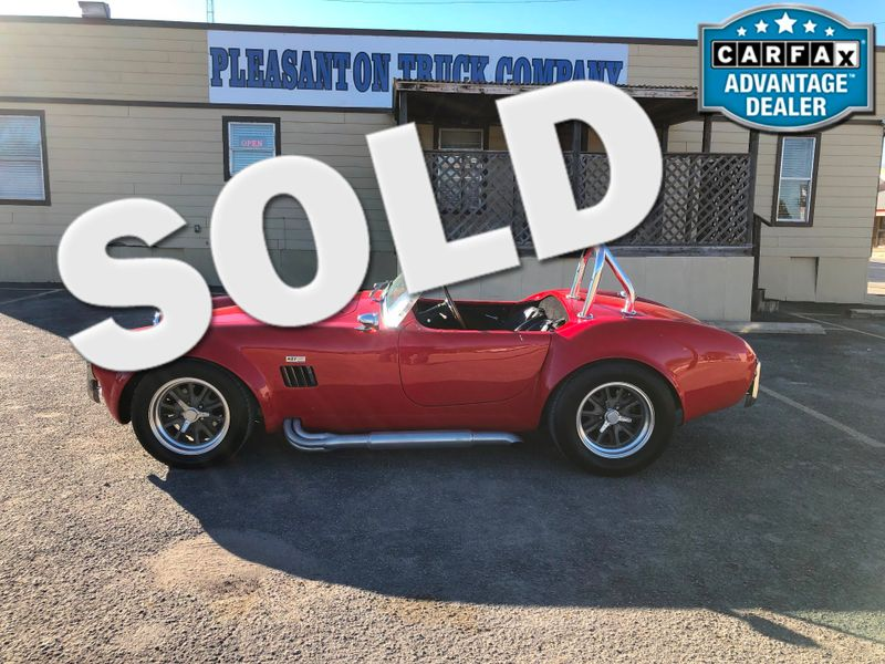 1967 Ac Cobra Replica  | Pleasanton, TX | Pleasanton Truck Company in Pleasanton TX