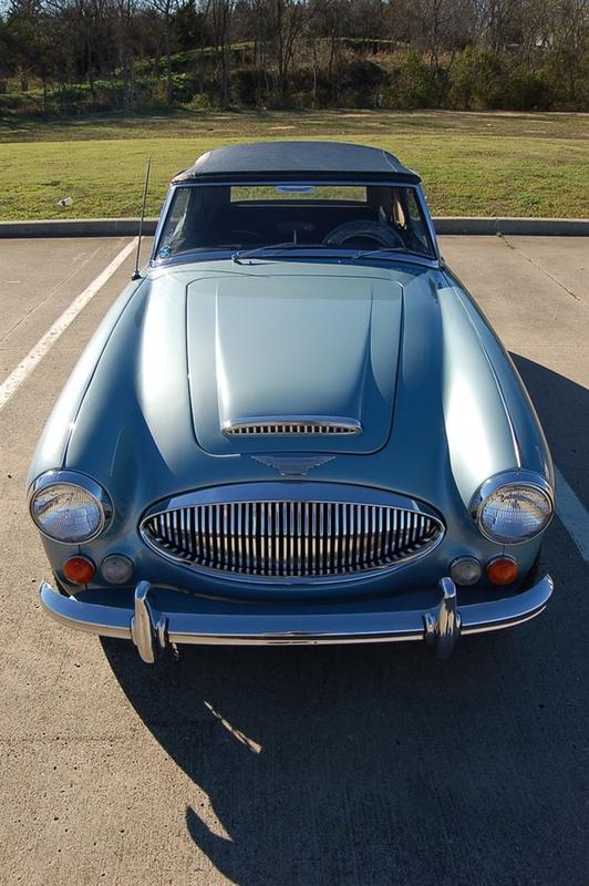 1967 Austin Healey 3000 ONLY 44K MILES - ULTRA ORIGINAL HERITAGE CERT in Rowlett, Texas