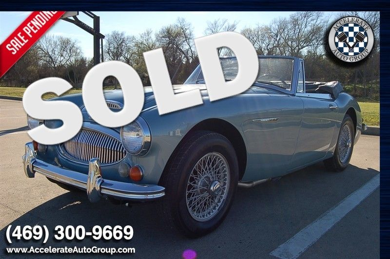 1967 Austin Healey 3000 ONLY 44K MILES - ULTRA ORIGINAL HERITAGE CERT in Rowlett Texas