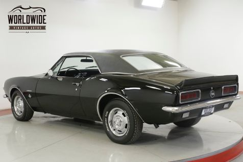 1967 Chevrolet CAMARO RS/SS TRIBUTE 350 V8 FACTORY AC TRIPLE BLACK  | Denver, CO | Worldwide Vintage Autos in Denver, CO