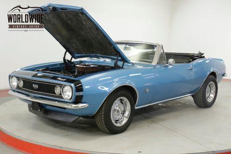 1967 Chevrolet CAMARO CONVERTIBLE 350V8 AUTO SS   Denver, CO   Worldwide Vintage Autos in Denver, CO