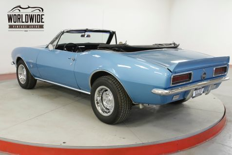 1967 Chevrolet CAMARO CONVERTIBLE 350V8 AUTO SS | Denver, CO | Worldwide Vintage Autos in Denver, CO