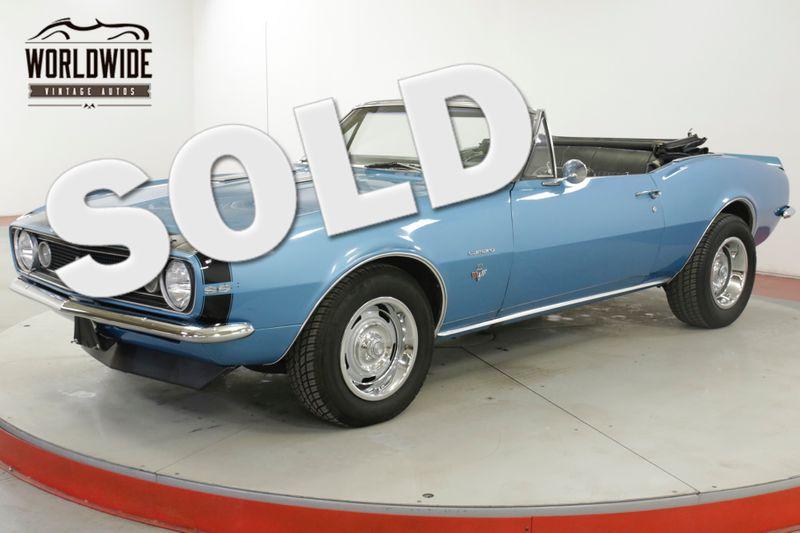 1967 Chevrolet CAMARO CONVERTIBLE 350V8 AUTO SS   Denver, CO   Worldwide Vintage Autos