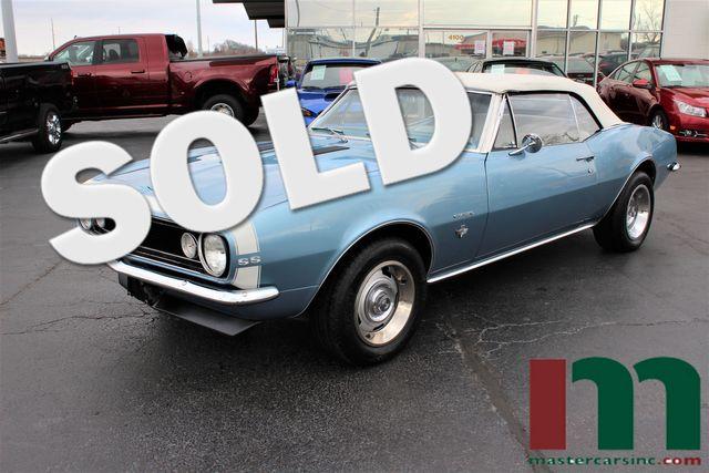 1967 Chevrolet Camaro SS Convertible | Granite City, Illinois | MasterCars Company Inc. in Granite City Illinois