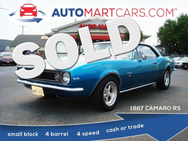 1967 Chevrolet Camaro RS | Nashville, Tennessee | Auto Mart Used Cars Inc. in Nashville Tennessee