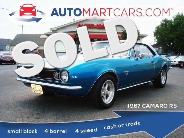 1967 Chevrolet Camaro RS | Nashville, Tennessee | Auto Mart Used Cars Inc. in Nashville Tennessee