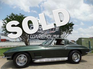 1967 Chevrolet Corvette Coupe 327/350 HP,  #'s Matching, Side Exhaust, 66k | Dallas, Texas | Corvette Warehouse  in Dallas Texas