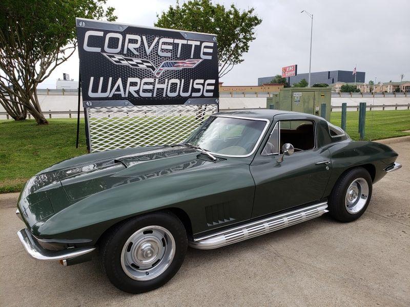 1967 Chevrolet Corvette Coupe 327/350 HP,  #'s Matching, Side Exhaust, 66k | Dallas, Texas | Corvette Warehouse