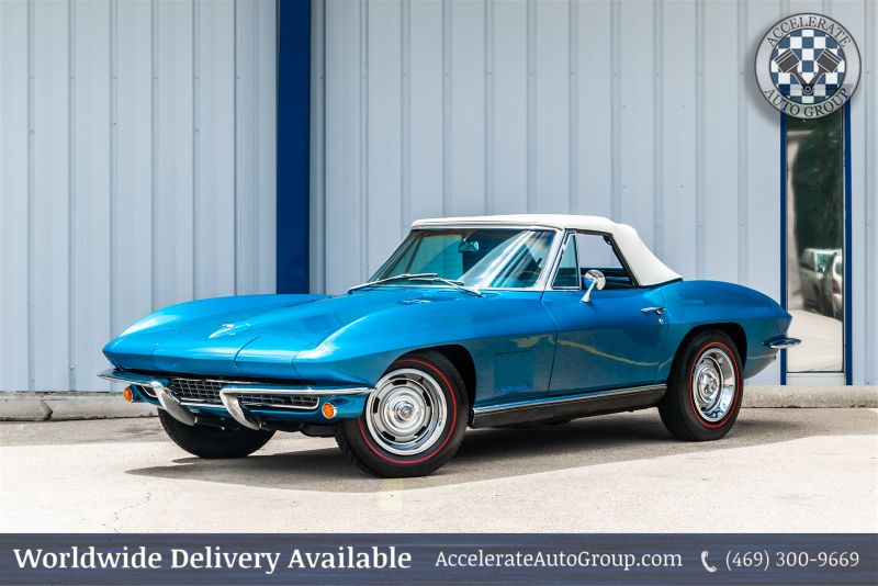 1967 Chevrolet Corvette  Conv 327/300HP in Rowlett Texas