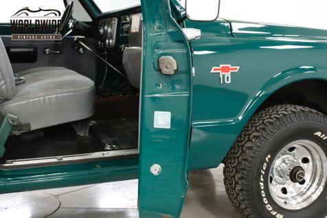 1967 Chevrolet K10 4X4 SHORT BOX 4X4 NEW 350 V8 4-SPEED MANUAL | Denver, CO | Worldwide Vintage Autos in Denver, CO