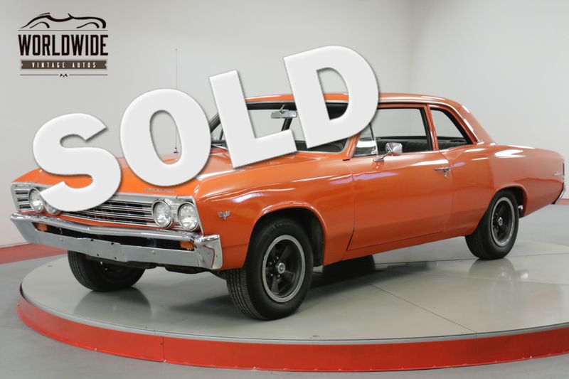 1967 Chevrolet MALIBU SS TRIBUTE 350V8 4-SPEED PS DISC BRAKES    Denver, CO   Worldwide Vintage Autos