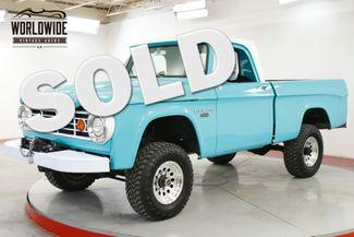 1967 Dodge POWER WAGON FRAME OFF RESTORED 4x4 SHORT BED 318 WINCH | Denver, CO | Worldwide Vintage Autos in Denver CO