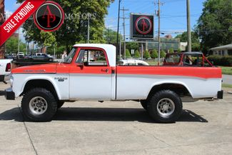 1967 Dodge POWER WAGON W100 MANUAL TRANSMISSION in Statesville, NC 28677