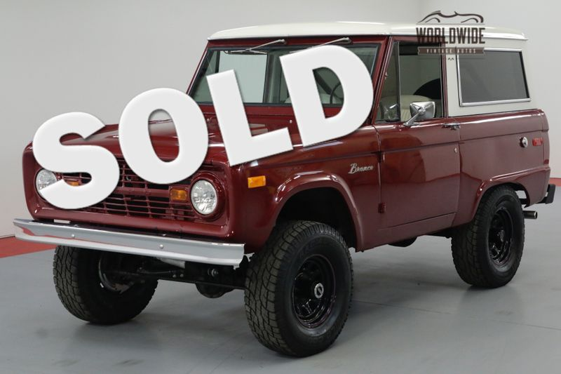 1967 Ford BRONCO RESTORED. V8 AUTOMATIC. DISC. 4X4 MUST SEE | Denver, CO | Worldwide Vintage Autos